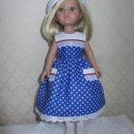 Платье для куколки Паола Рейна.