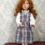 Сарафан для куклы Крюгер