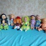 Разные куклы, СССР и современные