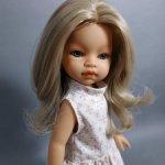 Ребекка, Голубоглазая Блондинка от Muñekas  Antonoi Juan S.L.  Испания