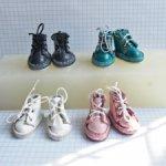 Кожаные ботиночки для гендерно нейтральных кукол Creatable World от Mattel