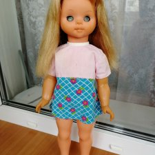 Кукла ГДР, Бигги, 45 см