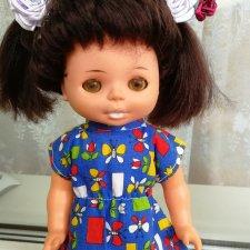 Куколка ГДР, 30 см, с зубками