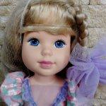 "My Beautiful Doll Rachel 17.5"" Vinyl 1989 Hasbro"