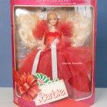 Happy Holidays Barbie 1988