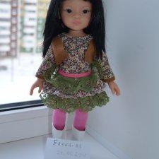Кукла Лиу Паола Рейна на старом теле .Цена снижена 3500!