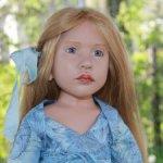 Коллекционная кукла Dakota от Zwergnase. Цена снижена. Доставка включена в цену