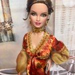 Барби Солитер из серии 'Девушки Бонда' / Solitaire Barbie- Live and Let Die , Black Label