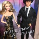 Tim McGraw and Faith Hill set as Barbie and Ken