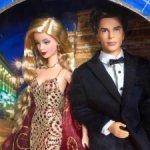 Сет Джеймс Бонд и его подруга / James Bond Barbie and Ken
