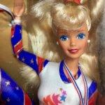 Барби олимпийская гимнастка / Olympic gymnast Barbie