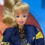 Шарнирная Барби Баскетболистка / NBA Indiana Pacers Barbie