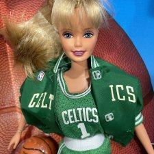 Шарнирная Барби Баскетболистка / NBA Boston Celtics Barbie