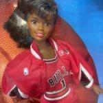 Шарнирная Барби Баскетболистка / Chicago Bulls Barbie NBA