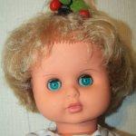 Кукла-пупс ГДР. Симпатичный ребенок.