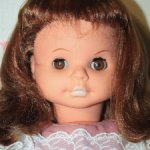 Кукла ГДР Бигги. Винтажная  красавица молд 60/54.