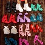 Набор обуви для Барби