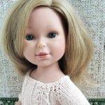Кукла Паулина от Вестида де Азул. Доставка в цене.
