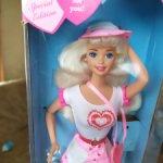 Барби valentine fun, 1996 г