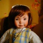 Шикарная кукла от Дианы Эффнер - художественно расписанные глаза
