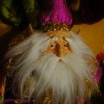 Авторский Тролль старичок - коллекционная кукла