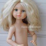 Кукла Карла шарнирное тело, паричок.