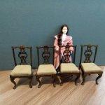 Винтажные  деревянные стулья. Доставка бесплатно!