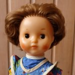 Советская кукла СССР нахабинская фабрика, Нахабино