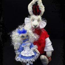 Похвастушки! Моя работа белый кролик закончена! Спешу показать