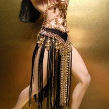Восточный костюм куклы phicen для танцев живота