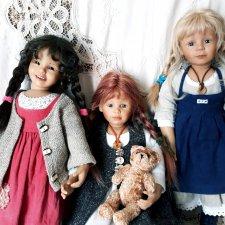 Мои девочки от Bettine Feigenspan-Hirsch для Zapf
