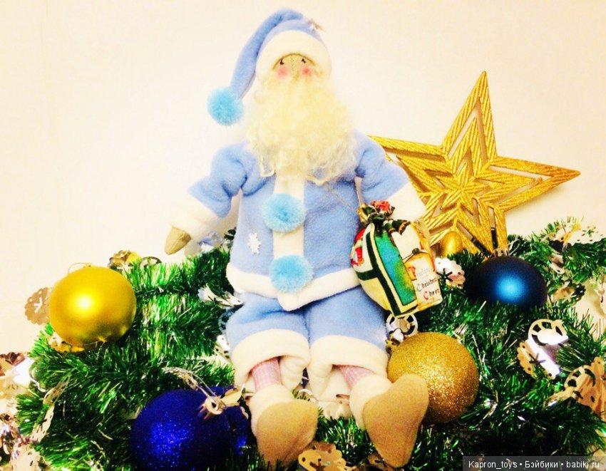 Санта Клаус ручной работы