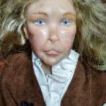 Авторская кукла из цернита Винсент от Linda Kertzman. Рассрочка! Цена вниз! 9500!