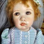 Редчайшая фарфоровая(резин) кукла от AADA  Обещание.#1/5. Рассрочка !