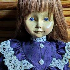 Большая деревянная кукла Адриан от Dolfi. 1991 год. Рассрочка!