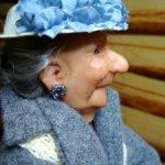 Тетушка Делла Мей от Richard Simmons. Резин.