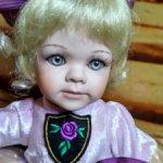 Фарфоровая кукла Флер от Linda Steele. Рассрочка!