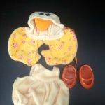 Аутфит для мишек Muffy Vanderbear. Цыпленок.. 1990 год. Винтаж
