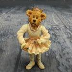 Мишка Балерина. Мишки из обувной коробки. Резин.