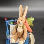 Кролик с морковкой от Ganz. 9 см