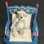 Мишка Серенький от World Of Miniature Bears. 5 см
