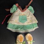 Аутфит для мишки Muffy Vanderbear. Рождество в Новой Англии. Винтаж. 1995 год