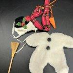 Аутфит для мишки Muffy Vanderbear. Снеговик. 1994 год.