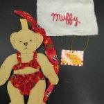 Аутфит для мишки Muffy Vanderbear. На пляже.1989 год