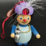 Деревянная елочная игрушка от Steinbach. Германия Алладин.