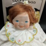 Рыжая малышка от Pauline Bjonness Jacobsen. Фарфор. 18 см