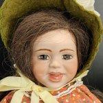 Авторская кукла от Beulah Markus. 60-е гг.
