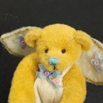 Мишка Ангел от Deborah Ganham. 7 см. Миниатюра. США