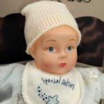 Малыш в голубом от madame Alexander. 17 см. 2000 год