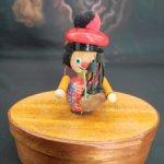 Елочная игрушка Волынщик от Steinbach. Германия. 9 см